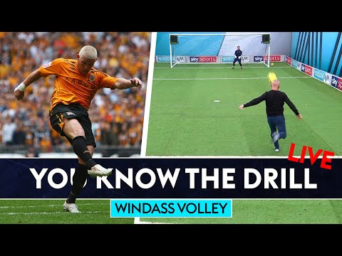 Bullard and Windass try to recreate *THAT* play-off final volley!   You Know The Drill Live