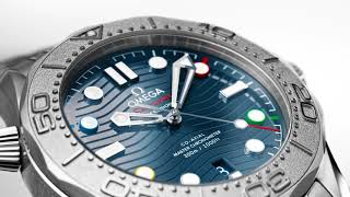 "Seamaster Diver 300M ""Beijing 2022"" Special Edition"