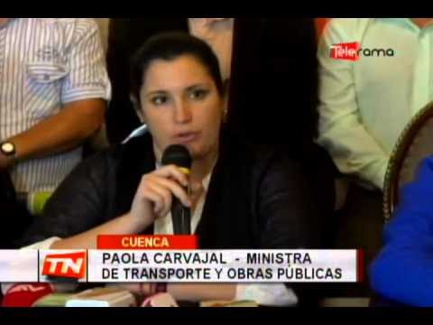 Analizan declaratoria de emergencia vial en el Azuay