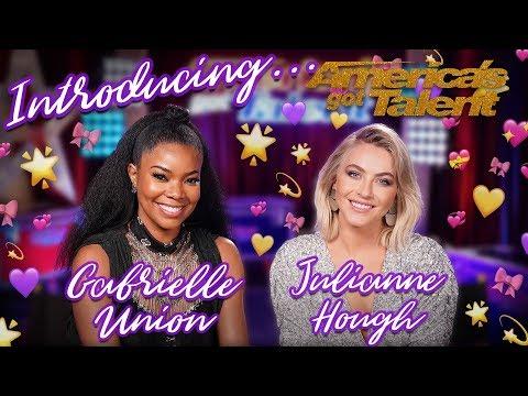 Meet Gabrielle Union and Julianne Hough! - America's Got Talent 2019