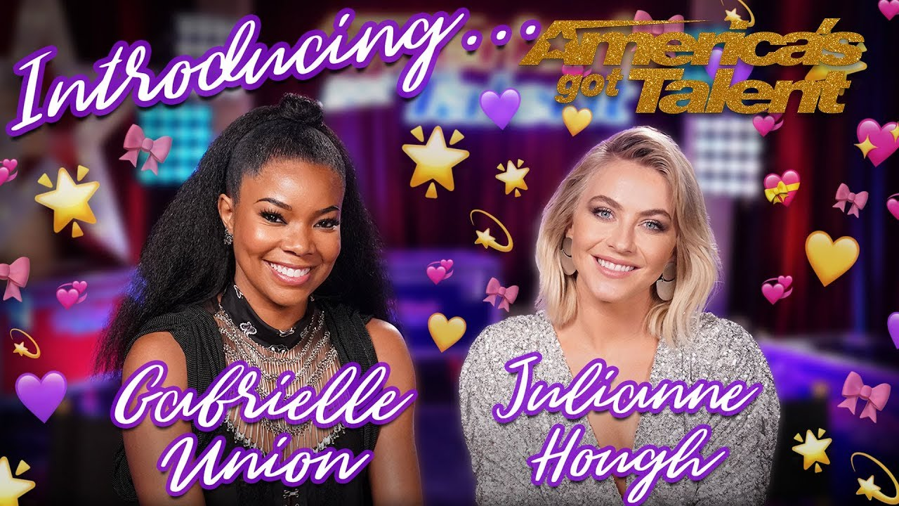 Meet Gabrielle Union and Julianne Hough! - America's Got Talent 2019