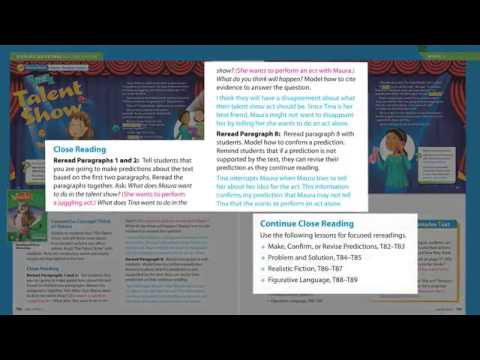 talent show program sample reading wonders program basics grades 3 6 youtube