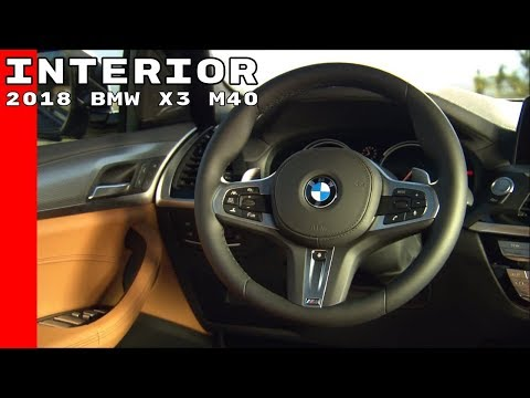EXCLUSIVE Report Of The New 2018 BMW X3 Interior