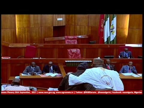 Senate Plenary, 26th September, 2017