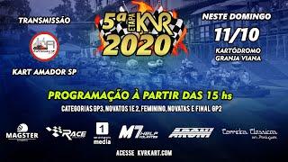 KVR Kart 2020 - 5º Etapa na Granja Viana