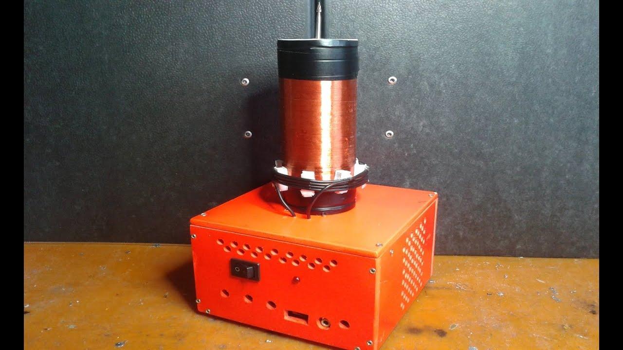 Audio teslaspule selber bauen mit relaisdraht youtube - Fensterladen mit lamellen selber bauen ...