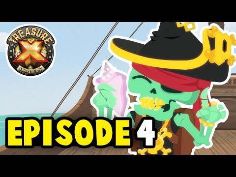 Treasure X EPISODE 4 | A Pirate's Life For Me | Cartoons for Children