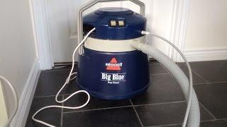 bissell big blue deep cleaner carpet cleaning demonstration