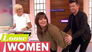 The Loose Women Twerk With Rick Astley! | Loose Women