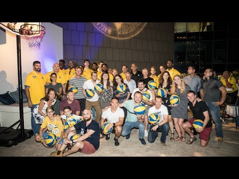 Maccabi and Heseg foundation event for the upcoming season