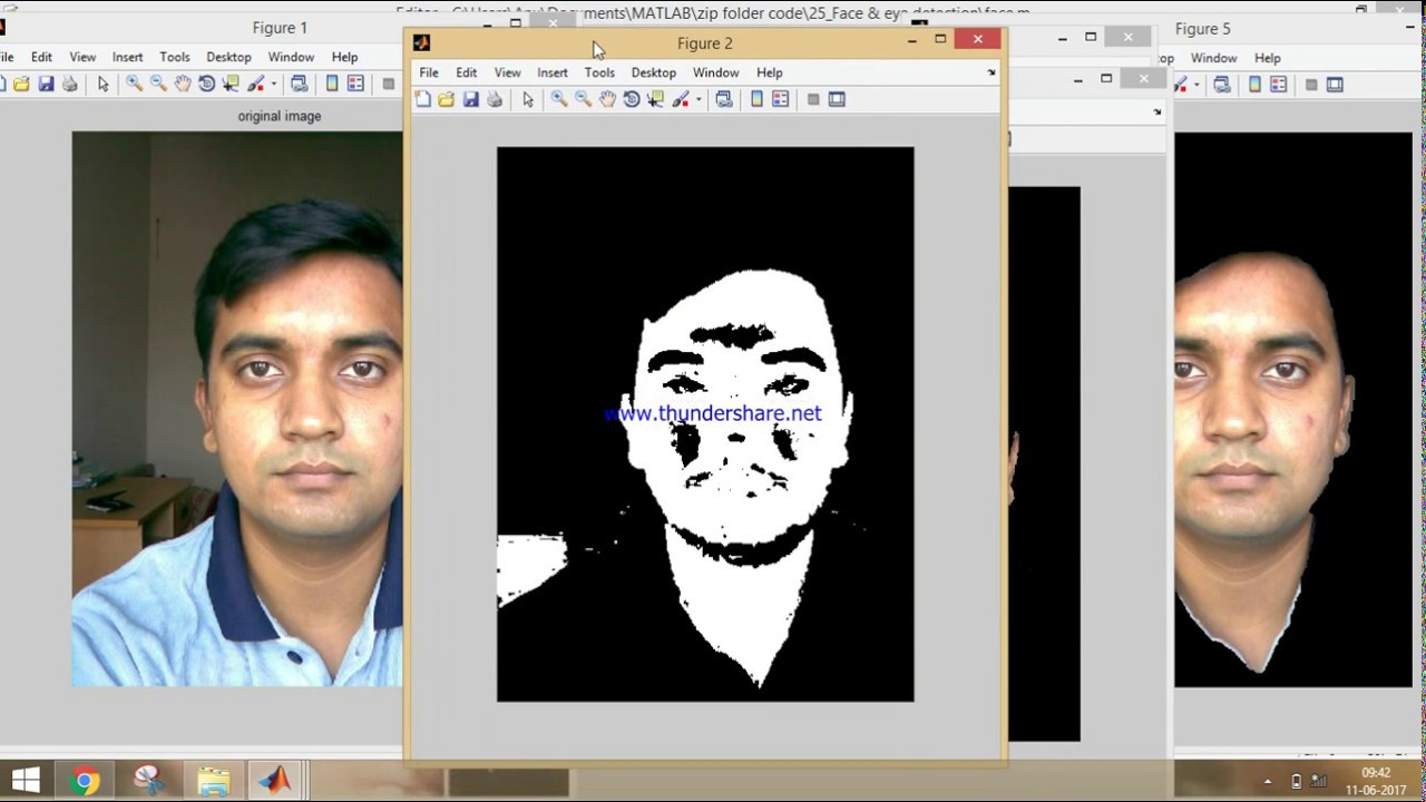 Matlab code for face detection based on color segmentation -Part 2 4