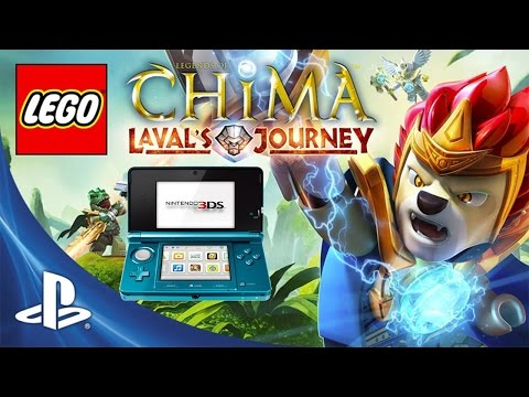 LEGO Legends of Chima Lavals Journey {3DS} — Сравниваем с PS Vita версией