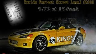 Kings Performance - Yellow Bullet S2K - World's Fastest Street Legal S2K Thumbnail