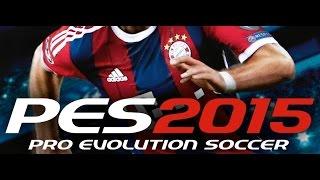 Pro Evolution Soccer 2015   PC - Barcelona x Manchester Unite
