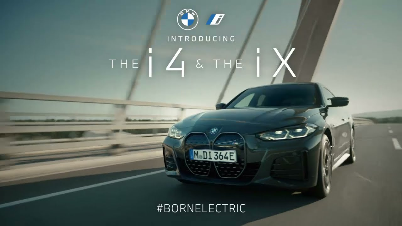 The Power of Action: Meet The First-Ever BMW iX & BMW i4 | BMW USA :15