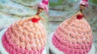 як зробити торт ляльку фото і відео покроково