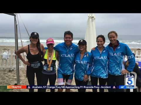 Champion System Dresses KTLA Team For Malibu Triathlon