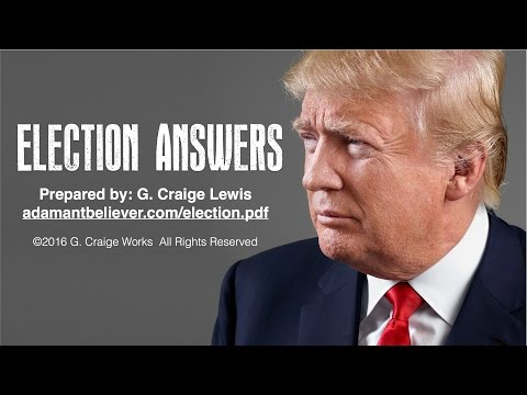 EX Ministries Presents: Election Answers with G. Craige Lewis