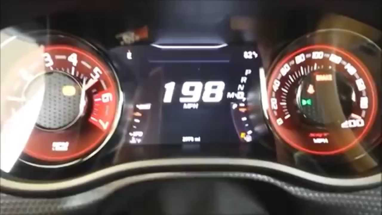 Dodge Challenger Hellcat 2015 Top Speed Youtube