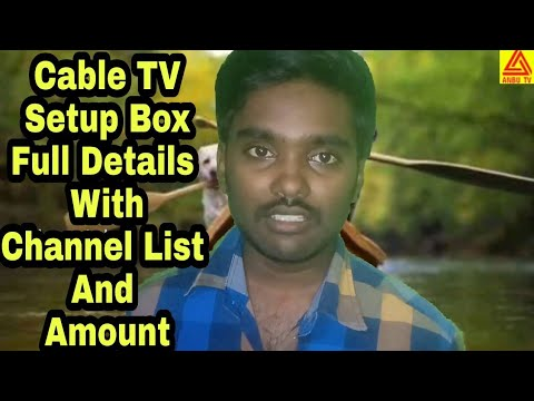 Tamilnadu Arasu Cable Tv Set Top Box Price And Channel Detail Youtube