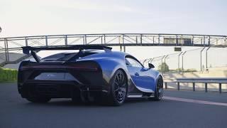 New Bugatti Chiron Pur Sport Hits The Bilster Berg Track