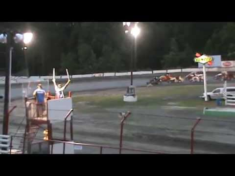 USAC Dirt Midgets - Bear Ridge Speedway - 6-27-15