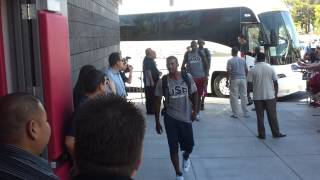 TEAM USA 2012 Arrives to First Practice in Vegas