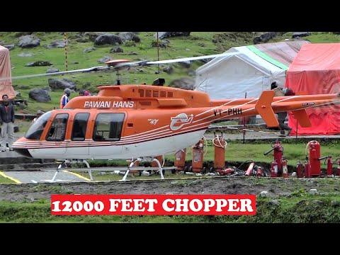 Helicopter Service Kedarnath 12000 Feet Himalayas