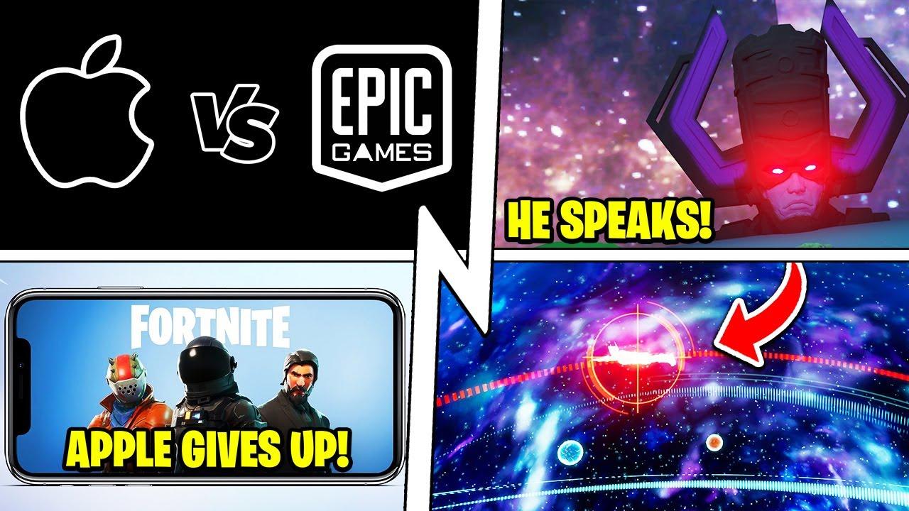 Fortnite IOS Returns, GALACTUS SPEAKS, Epic Leaked the Event (NO Spoilers)!