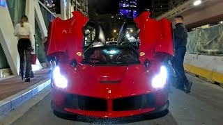 The EPIC Monaco F1 Nightlife brings out the most EXCLUSIVE SUPERCARS!