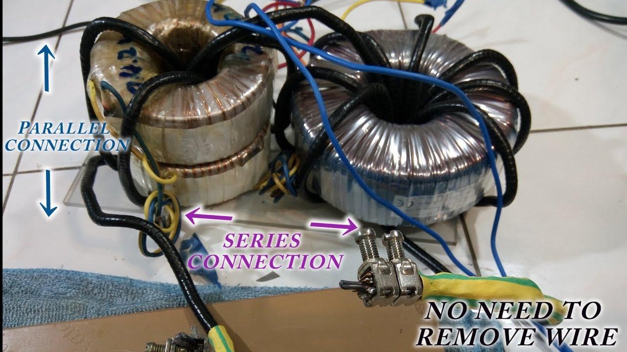 How To Make A Spot Welder Uff08toroidal Transformer Uff09