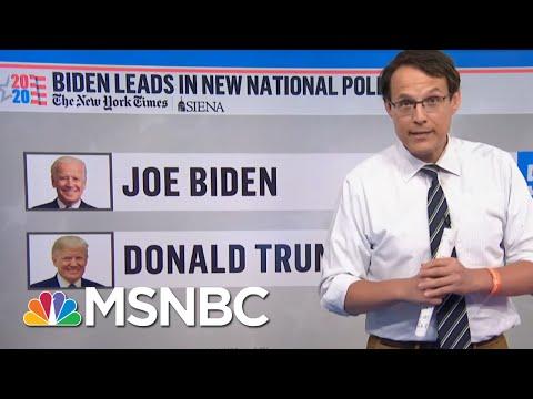 Steve Kornacki: 'The Average Nationally Is A Double-Digit Lead For Joe Biden'   MSNBC