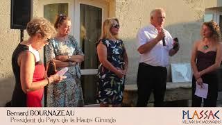 Inauguration à Plassac le 23 septembre 2017