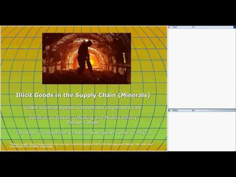 Global Initiative Webinar - Illicit Goods in the Supply Chain (Minerals)