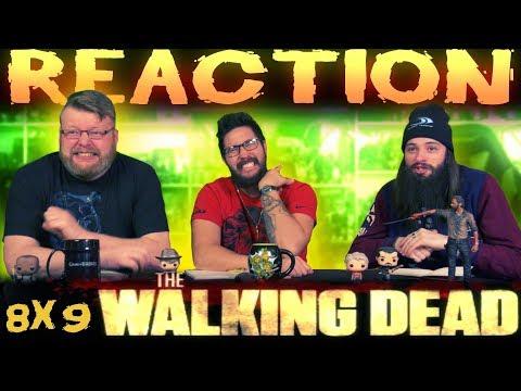 The Walking Dead 8x9 REACTION!!