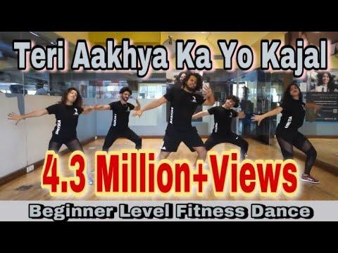 Teri Aakhya Ka Yo Kajal | Sapna Chaudhary | Zumba Dance Routine | Dil Groove Maare