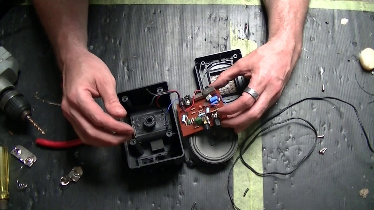 Hack a PC Speaker into a Guitar Amp - Step by Step Tutorial