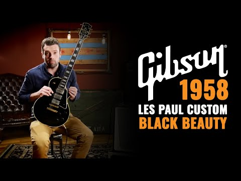 1958 Gibson Les Paul Custom Black Beauty | CME Gear Demo