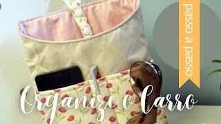 DIY : Lixeira Organizadora de Carro – By Fê Atelier