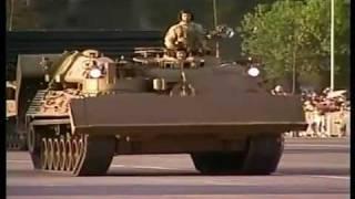 Gran Parada Militar Chile 2010 Parte 10 Ejercito de Chile