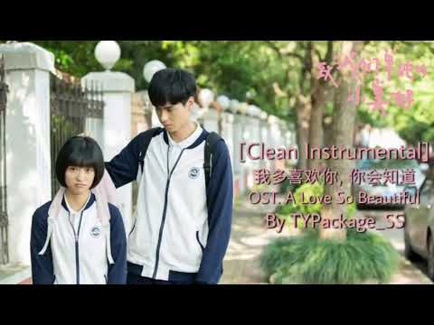 [Clean Instrumental] 我多喜欢你, 你会知道 Ost.A Love So Beautiful