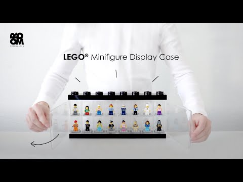 LEGO Minifigure Display Case by Room Copenhagen