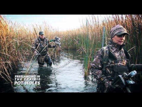 Swift Waters Season 4 EP #2 - Duck Hunting Freelancing In The Prairie Pot-holes Of North Dakota