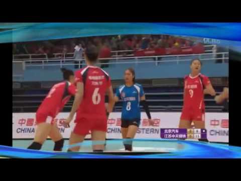 中国女排联赛 北京 vs 云南 2016-17 Women's Volleyball China League Beijing vs Yunnan