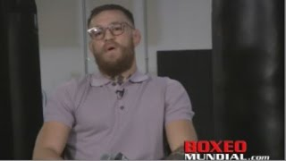 Conor McGregor on fighting Floyd Mayweather: As soon as he has my money, we can fight