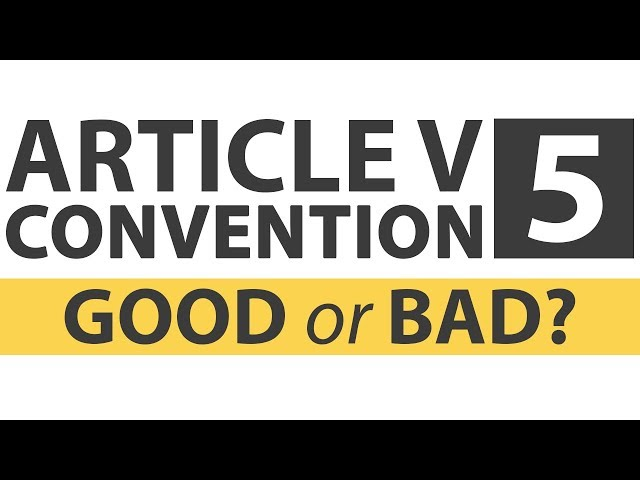 Is a Constitutional Convention a Bad Idea?