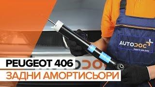 Видео-инструкция по эксплуатации на PEUGEOT 406 на български