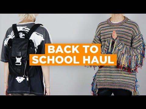 HUGE BACK TO SCHOOL GRAIL HAUL (Archive Raf Simons, Alyx, Sample Greg Lauren, Kaptial + More)