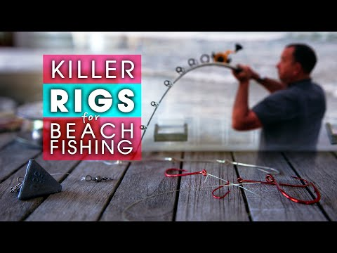 Beach Fishing Rigs ( 6 ) KILLER RIGS For Target Species
