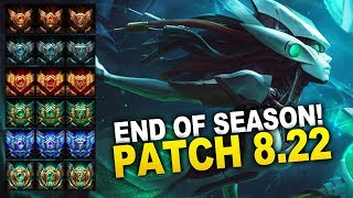 END OF SEASON PATCH! New Changes in Patch 8.22 (League of Legends)